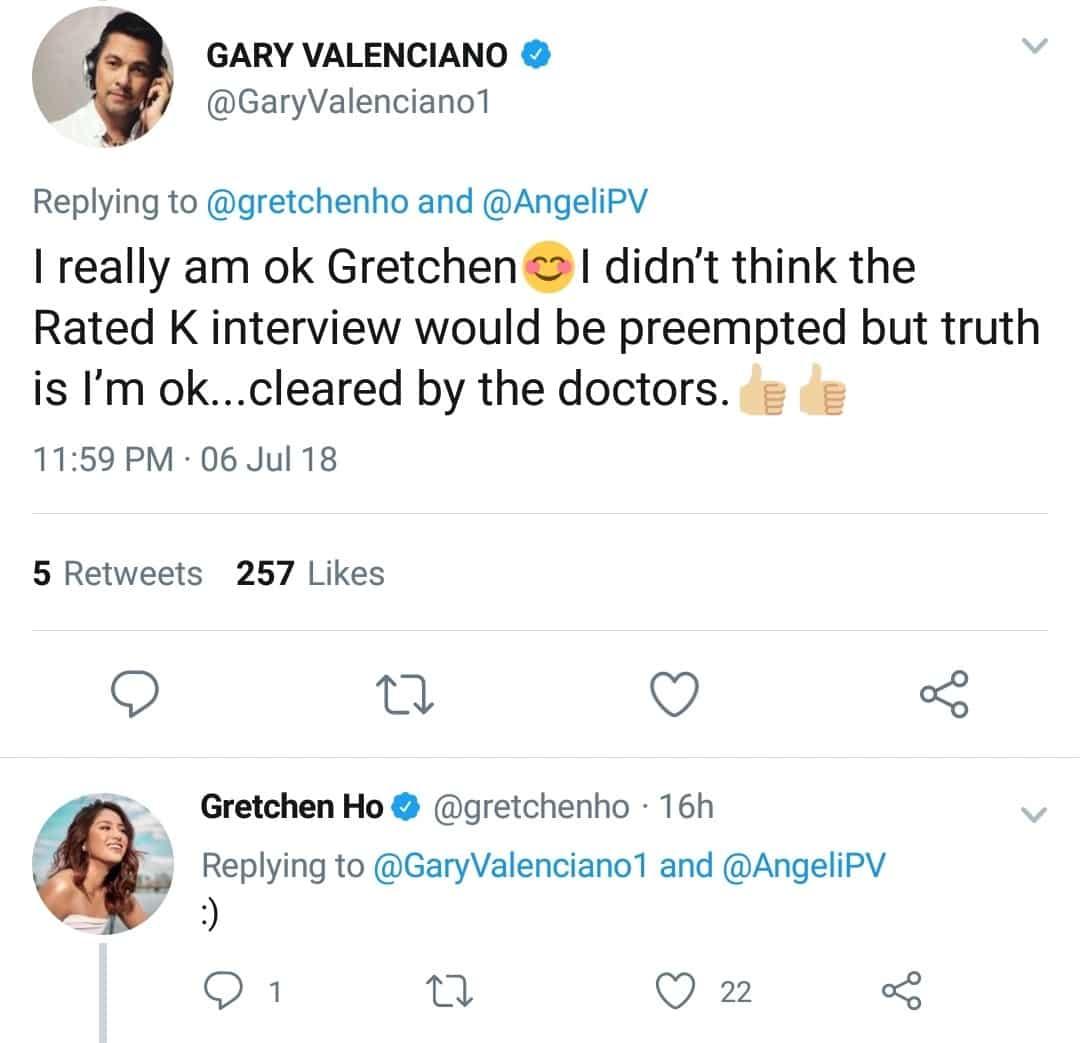 Nabahala ang mga fans! Gary Valenciano assures fans he's okay