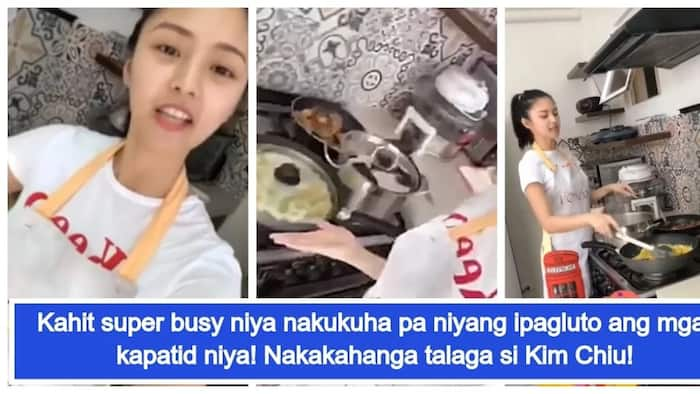 Marunong din pala magluto! Video of Kim Chiu cooking for her siblings went viral