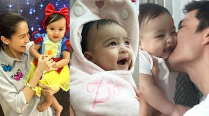 No party sabi ni daddy! Dingdong Dantes decides to celebrate baby Zia's 1st birthday through a simple gathering with family