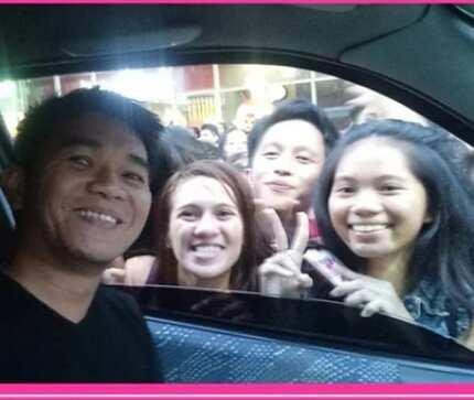 Sinalubong siya ng tilian! Napagkamalang Daniel Padilla, pagdumog ng fans sa mall kuha sa video