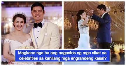 Yayamaning weddings! 5 Bonggang kasal sa Pilipinas at kung magkano ang ginastos ng bawat couple
