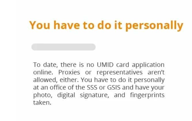 Ano nga ba ang mga dapat malaman? Important things you need to know for UMID Card Application