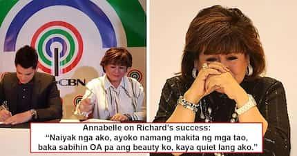Nalula sa kasikatan ng anak! Annabelle Rama sheds tears after hearing thundering applause for Richard Gutierrez!