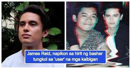 James Reid, sinagot ang issue na 'user' ang kaniyang mga kaibigan