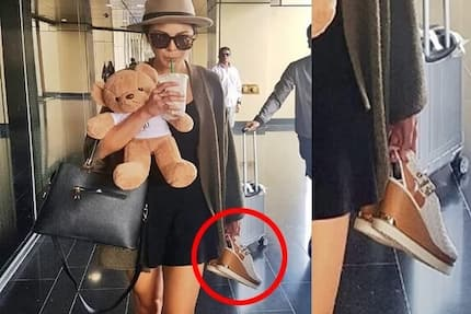 Netizens surprised about Maxine Medina carrying her shoes in hand