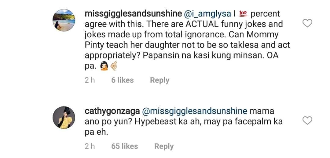 Alex Gonzaga, naimbiyerna sa mga netizens na nagsabing OA at taklesa siya