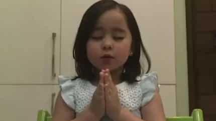Slang pa yan ha! Baby Scarlet wows netizens anew after leading a tagalog prayer