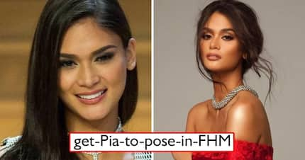 Sana pumayag! FHM launches campaign to convince Pia Wurtzbach to pose for the magazine but netizens are shaking their heads