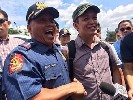 Bato's greetings of peace charmed Bayan leader