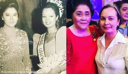 Imelda Marcos and Margie Moran exude ageless beauty with their recreation of iconic photo