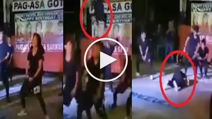 Enthusiastic Pinoy dancer suffers brutal accident in Angono