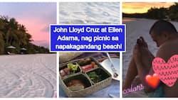 Buhay milyonaryo! John Lloyd Cruz & Ellen Adarna share glimpse of their awesome picnic at stunning beach