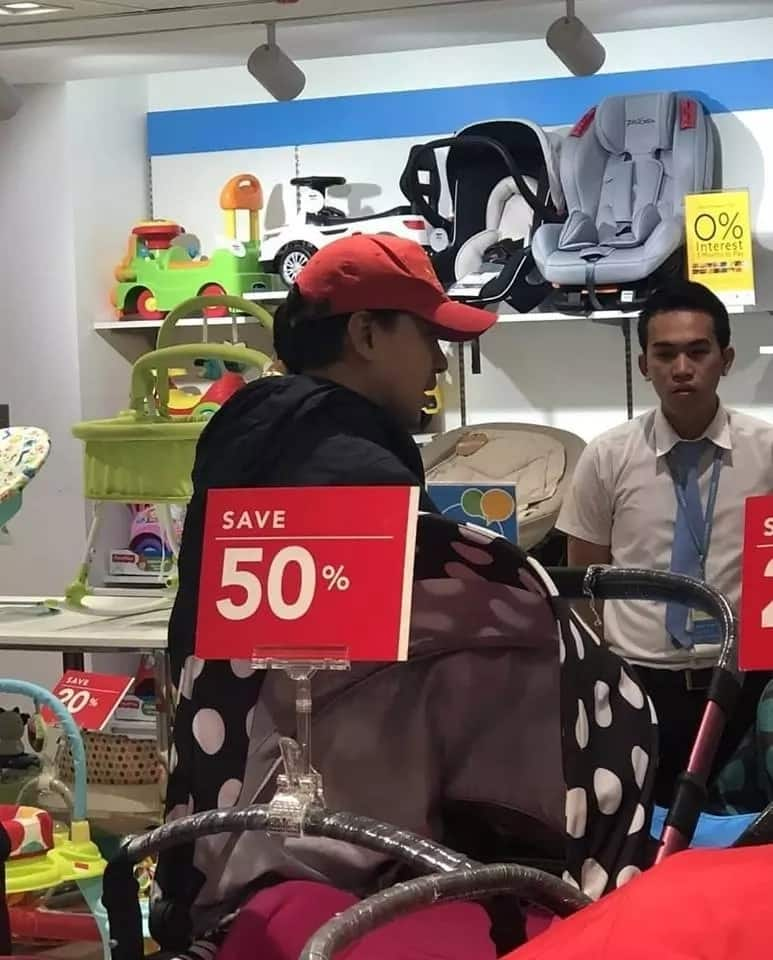 Tatay na tatay na talaga! John Lloyd Cruz spotted shopping for baby essentials in Cebu
