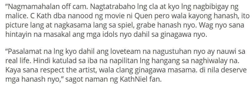 Fans ask Daniel Padilla to stay away from Liza Soberano to give respect to Enrique