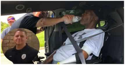 A bit of kindness to start your day! Nagtrending ang pulis na tumulong sa isang Quadriplegic man