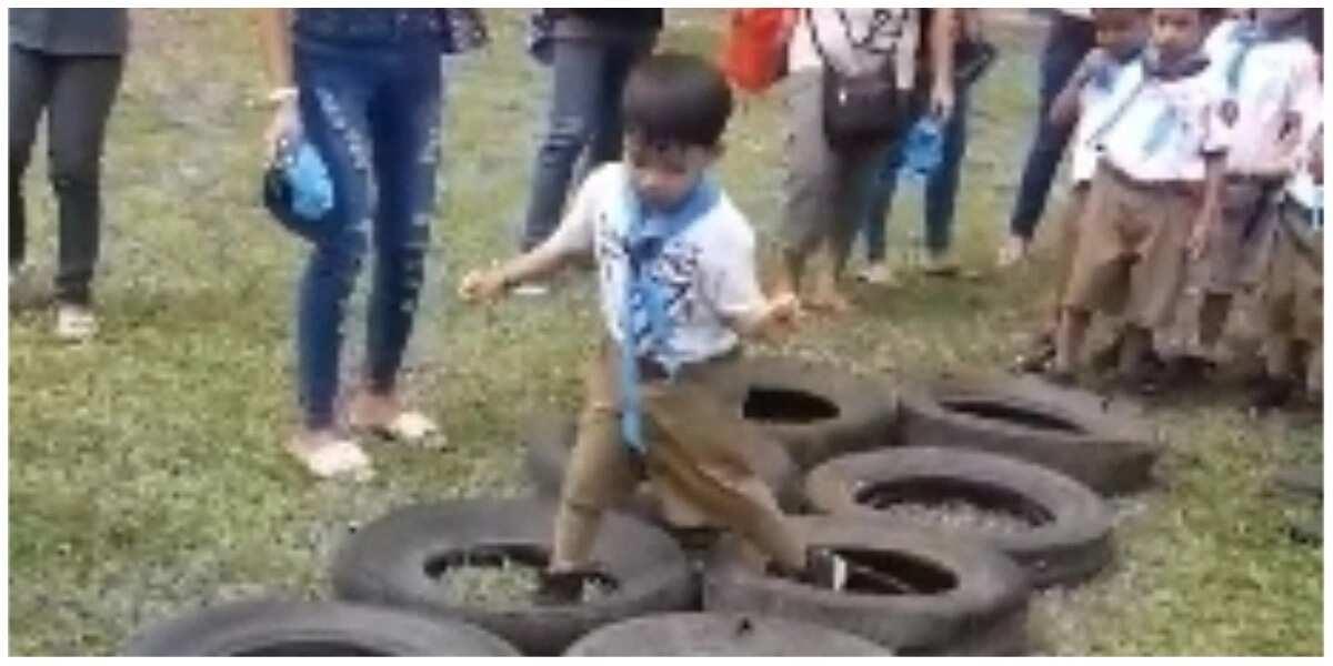 Batang lalaki, may kakaibang ipinakita sa isang Boy Scout activity! Reaksyon ni mudra, nakakaaliw