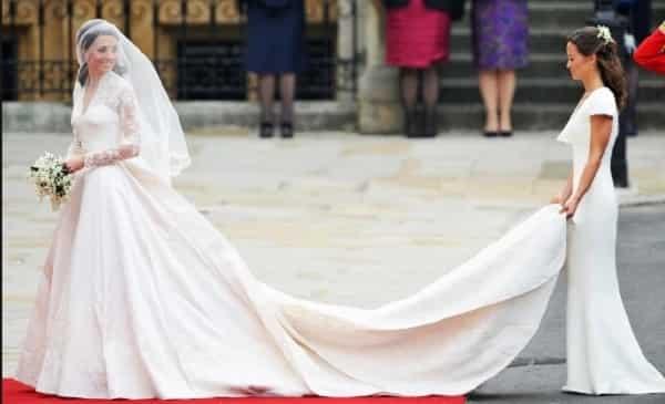 Wedding gown ni Meghan Markle, mas mura pa rin kumpara sa gown ni Kate Middleton