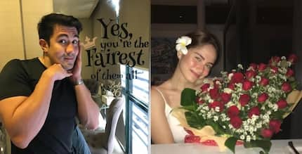 Luis Manzano and Jessy Mendiola's exchange of cheesy messages prove how deeply in love they are