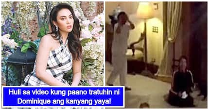 Ikinagulat ng maraming netizens ang ginawa ni Dominique Cojuangco sa kanyang yaya