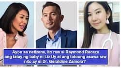 Netizens allege that the father of Liz Uy's baby is Raymond Racaza, husband of Dr. Geraldine Zamora