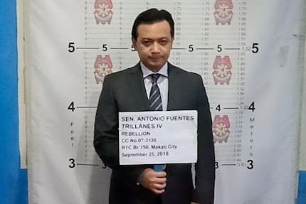 PNP prepares custodial center for Trillanes' possible arrest