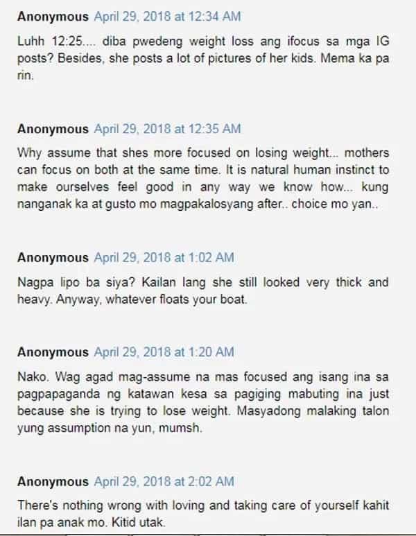 Netizen nagtanong kung ba't naka-focus si Ruffa Mae Quinto sa pagpapapayat kaysa pagiging mabuting ina