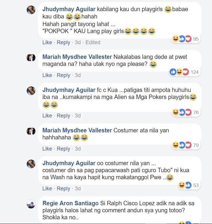 Netizens react to Playgirls' negative social media post about their bashers