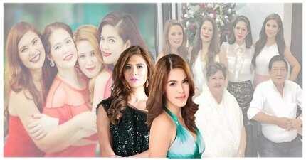 Equally beautiful non-showbiz sisters nina Shaina Magdayao at Vina Morales