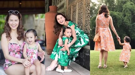 8 cutest matching outfits of Marian Rivera and Baby Zia