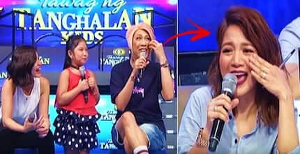 Watch Kyle get extremely embarrassed after Vice Ganda made fun of her excessive makeup: 'Grabe ka sa'kin!'
