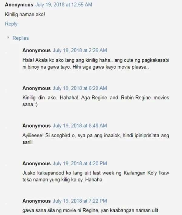 Robin Padilla niyaya si Regine Velasquez na gumawa uli ng movie, netizens naloka sa kilig