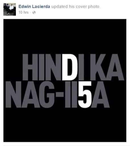 Duterte supporters vs. De Lima supporters