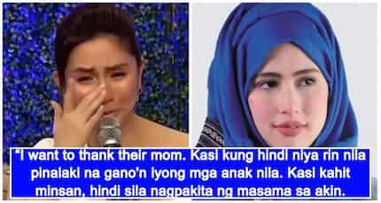 Mariel Padilla, di napigilang maging emosyonal sa letter ng anak ni Robin Padilla na si Queenie Padilla
