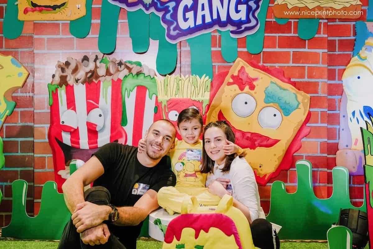 Super saya at bongga! Gavin Kramer's 5th Grossery Gang-Themed birthday party
