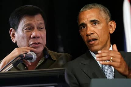 Duterte tells Obama he never cursed him