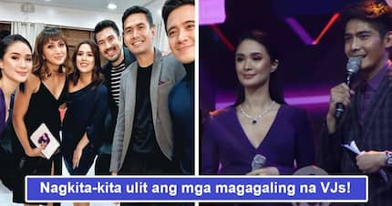 Tinawid ang bakod! Preggy Heart Evangelista graces ABS-CBN's music channel's Myx Music Awards 2018, reunites with other VJs