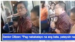 Siya daw ang dapat maupo! Senior Citizen, nanigaw ng batang tinatayang nasa 5 taong gulang sa LRT para lamang makaupo siya