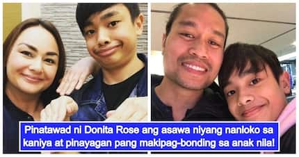 Netizens react to Donita Rose forgiving her cheating ex-husband & letting him bond with her son