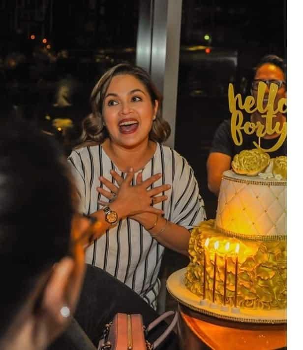 May isnaban bang naganap? Gladys Reyes reveals reason behind absence from Judy Ann Santos's 40th birthday surprise