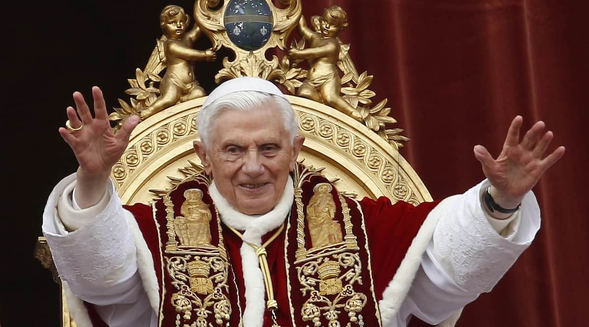Pope Benedict to release a memoir of his life as pope