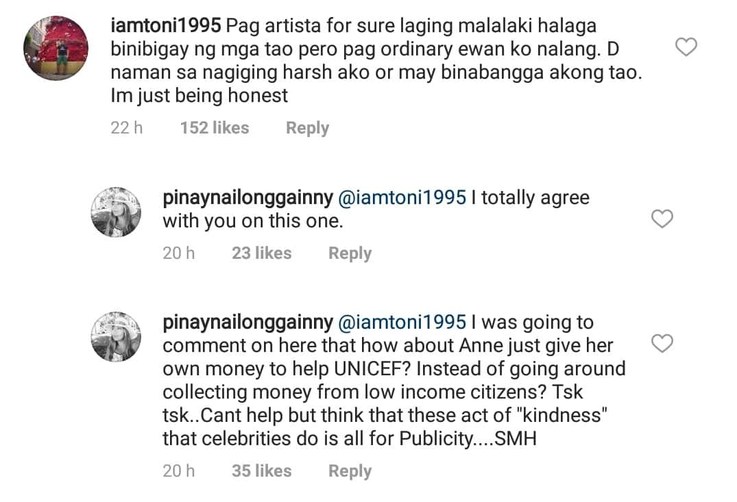 Anne Curtis responds to basher who thinks her act of kindness is all for publicity