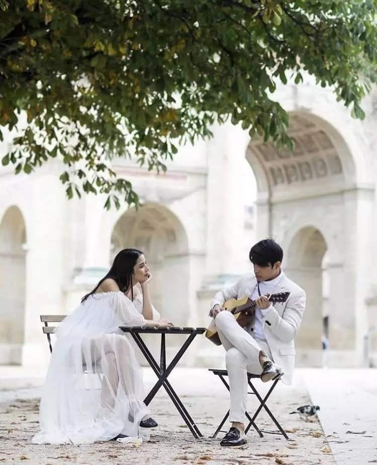 Super bagay talaga sila! Stunning photos from Maxene Magalona and Rob Mananquil's engagement photoshoot in Paris