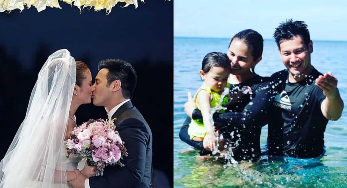 Isabel Oli and John Prats celebrates their 2nd wedding