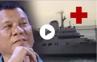WATCH: Can't sell presidential yacht? Use it as a hospital - Duterte