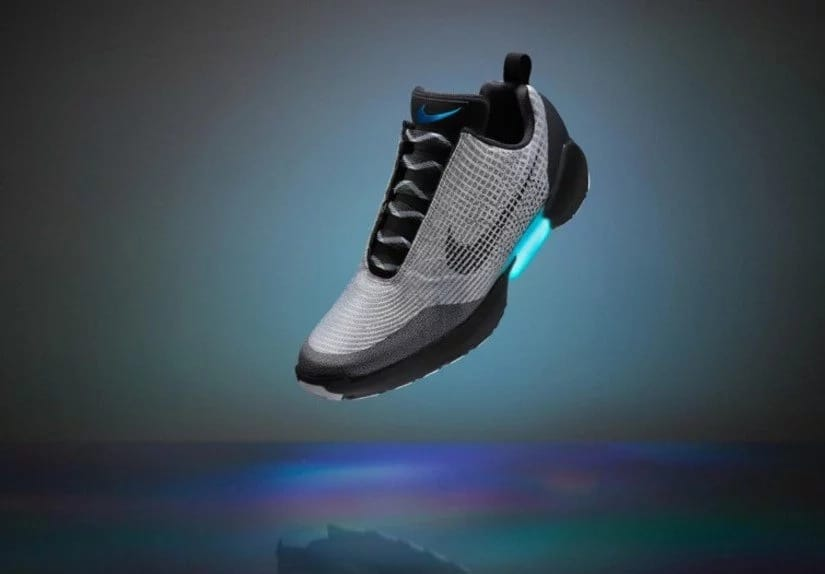 Nike is going to start selling self-lacing shoes this year!