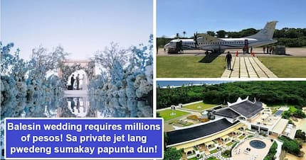 Mga alta lang tulad nina Coleen at Billy makaka-afford nito! Cost of a Balesin Island wedding can make regular guys and gals fall off their seats