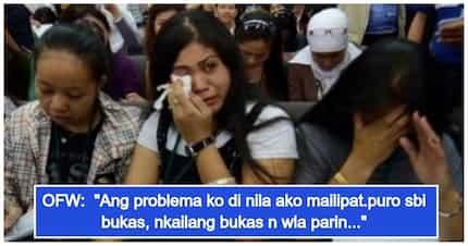 Takot na takot siya! Pinay OFW, humihingi ng tulong dahil iba ang employer na pumirma sa kanyang kontrata