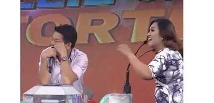 Nag-react si Kuya Wil! Wowowin' contestant, nadulas, muntik nang tawagin 'madlang pipol' ang audience