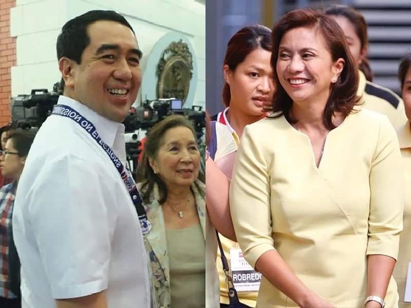Bautista and Robredo deny allegations of secret meeting
