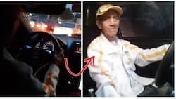 Wala kayo kay lolo! 75-year-old Uber driver shares his tips on how he does his job remarkably